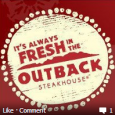 Outback Steakhouse has a printable coupon to get $10 off any 2 entries. The catch? You have to like them on Facebook to get the coupon. They will then send...