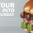 It's #MondayBunday at Carl's Jr. for you west coasters and Hardee's for you east coasters. Today only using this printable coupon you can buy a Thickburger and get one free.