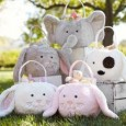 Today only Pottery Barn Kids is offering free shipping on their Easter Collection. Use promo code BUNNY.