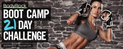 bodyrock's daily hiit 21 day bootcamp challenge
