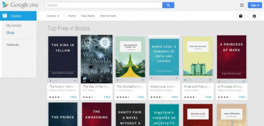 free ebooks from google